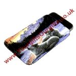 Wolves Phone Pouch Sunset